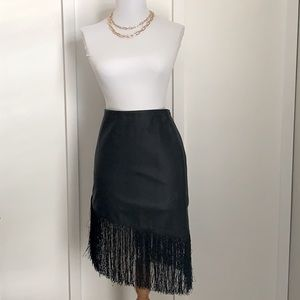 🤍Express Leather Skirt
